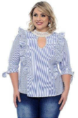 Camisa Plus Size Patrice