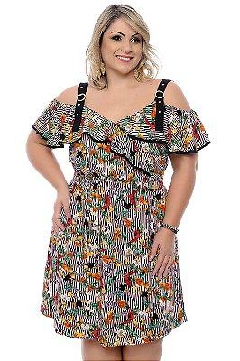 Vestido Plus Size Izanet