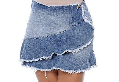 Saia Jeans Plus Size Heidi