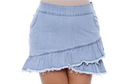 Saia Jeans Plus Size Adrien