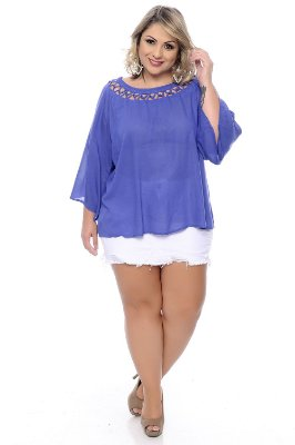 Shorts Saia Plus Size Iara