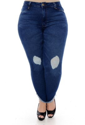 Calça Jeans Plus Size Liliane