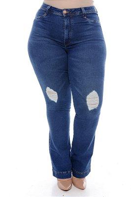 Calça Jeans Plus Size Monaly