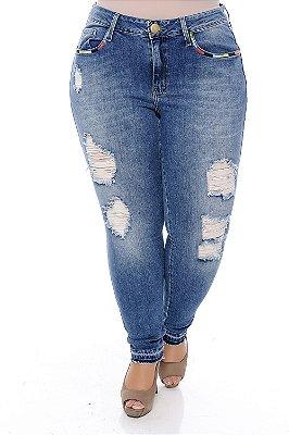 Calça Jeans Plus Size Silvana