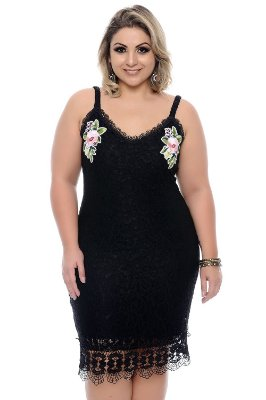 Vestido Plus Size Kirya