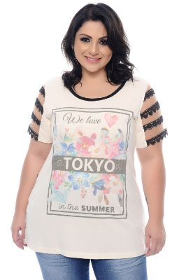 T-shirt Plus Size Cler