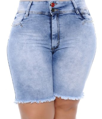 Bermuda Plus Size Jeans Charmy