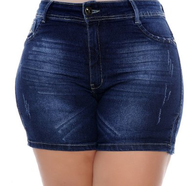 Shorts Plus Size Jeans Dhebye