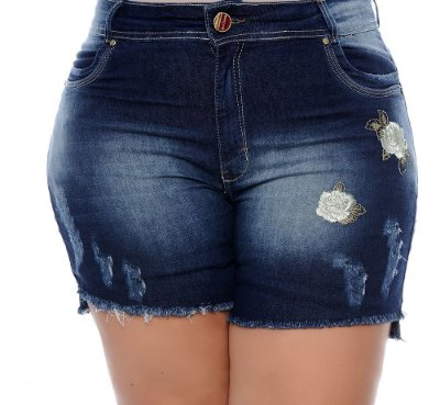 Shorts Jeans Plus Size Dalya