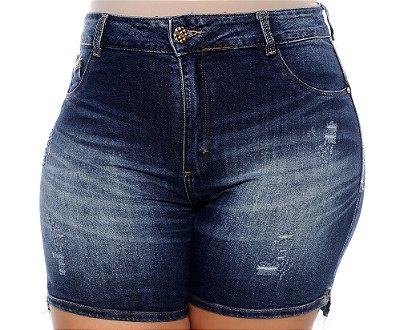 Shorts Jeans Plus Size Lisamara