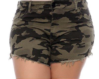 Shorts Jeans Plus Size Majó