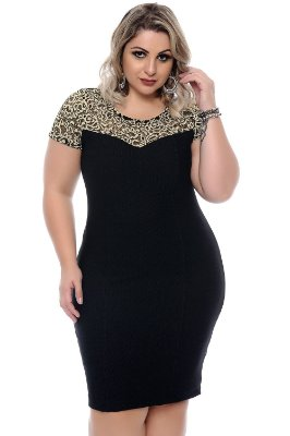 Vestido Plus Size Agnella
