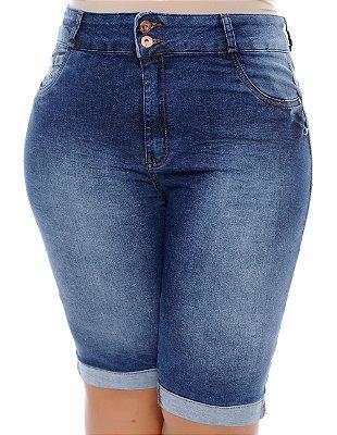 Bermuda Jeans Plus Size Ágda