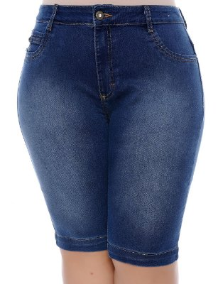 Bermuda Jeans Plus Size Ethel
