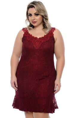 Vestido Plus Size Zoé