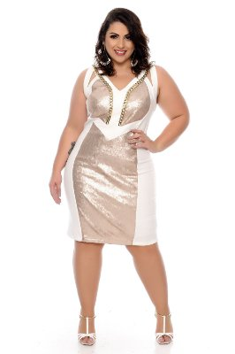 Vestido Plus Size Calíope