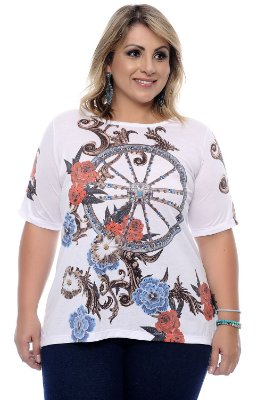 T-shirt Plus Size Libby