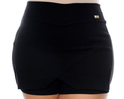 Shorts Assimétrico Plus Size Becky