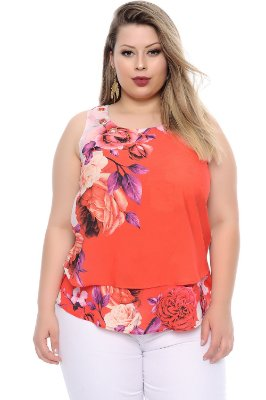 Blusa Plus Size Anthea
