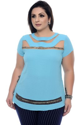 Blusa Plus Size Sidéria