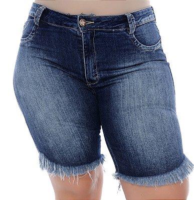 Bermuda Jeans Plus Size Néofita