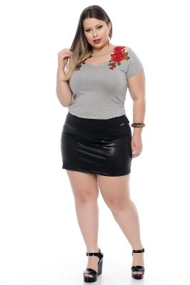 Shorts Saia Plus Size Kisha