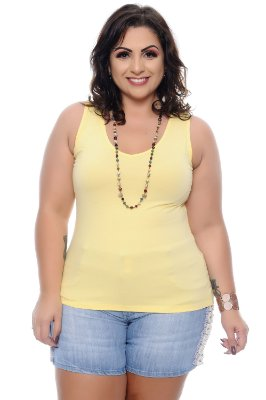 Regata Plus Size Lisiane