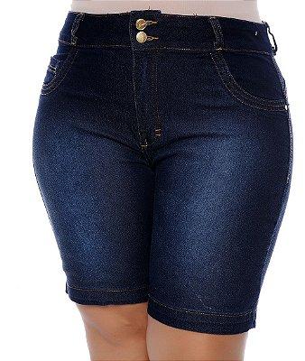 Bermuda Jeans Plus Size Dicéia
