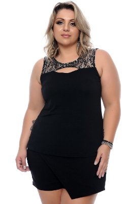 Regata Plus Size Tanya