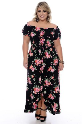 Vestido Plus Size Nargis