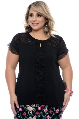 Blusa Plus Size Mirtes