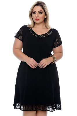 Vestido Plus Size Agny