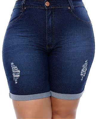 Bermuda Jeans Plus Size Wene