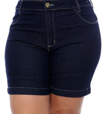 Shorts Jeans Plus Size Tindra