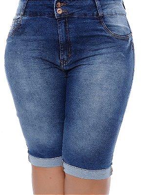 Bermuda Jeans Plus Size Brumália
