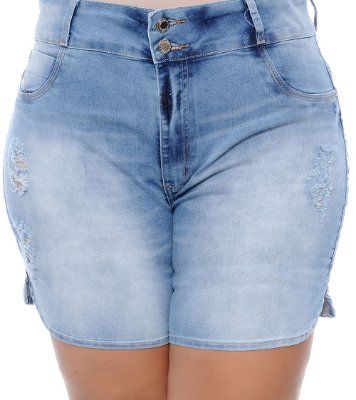 Shorts Jeans Plus Size Dyores