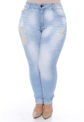 Calça Jeans Plus Size Nell