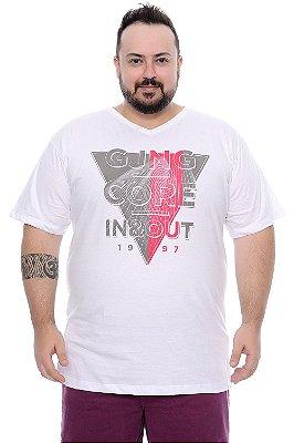 Camiseta Masculina Plus Size Tomás