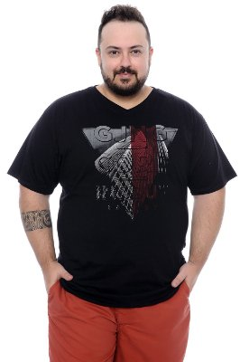 Camiseta Masculina Plus Size Guto