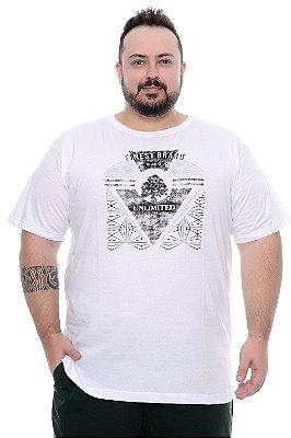 Camiseta Masculina Plus Size Tulio