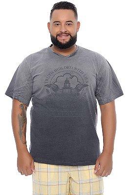 Camiseta Masculina Plus Size Halen