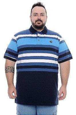 Polo Masculina Plus Size Marcus