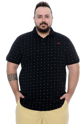 Polo Masculina Plus Size Ramon