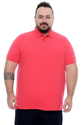 Camisa Polo Masculina Plus Size Sion