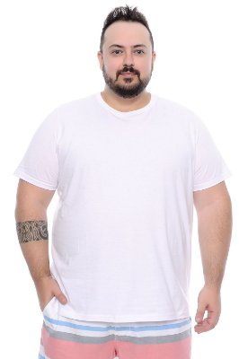 Camiseta Masculina Plus Size Adam