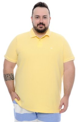 Polo Masculina Plus Size Connor
