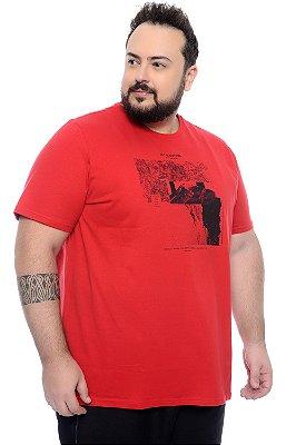 Camiseta Masculina Plus Size Omar