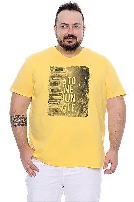 Camiseta Masculina Plus Size Clark