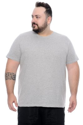 Camiseta Masculina Plus Size Tony