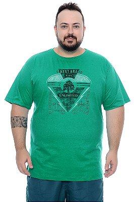 Camiseta Masculina Plus Size Nuno